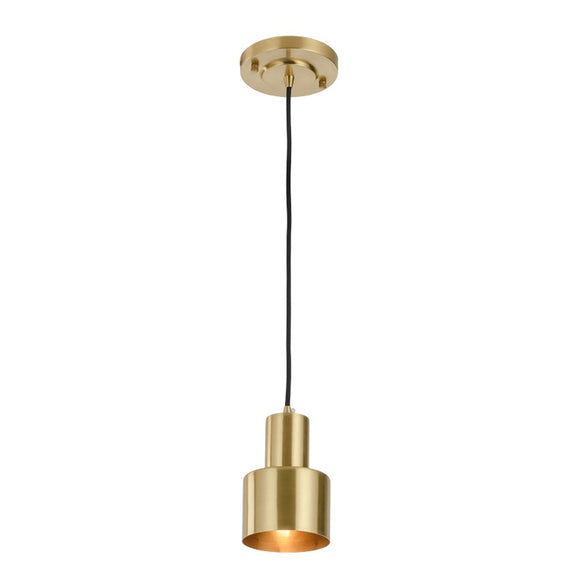 Raw Brass Pendant Light Art Light Industrial E26/E27 40W - heparts
