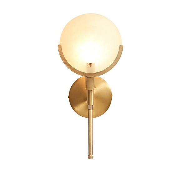 Sectors Solid Brass Sconce Wall Lights Bathroom Lights Vanity Lighting Mid Century Sconce - heparts