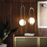 Simple Artful Vintage Hanging Ring Glass Ball Pendant Light Chandelier Lamps E26/E27 Base