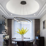 Modern led Pendant lights for living room dining room Matte Black/White 90-260V hanging Pendant lamp