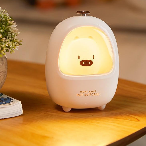 Led Animal Touch Night light Bedroom Baby Breastfeeding Adjustable Sleep Lamp Cute Children USB Rechargeable bedside lamp