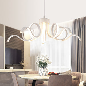 Led 75W Pendant Light Modern Contemporary Metal Painting 110V or 220V for Dinning Room Living Room Bedroom