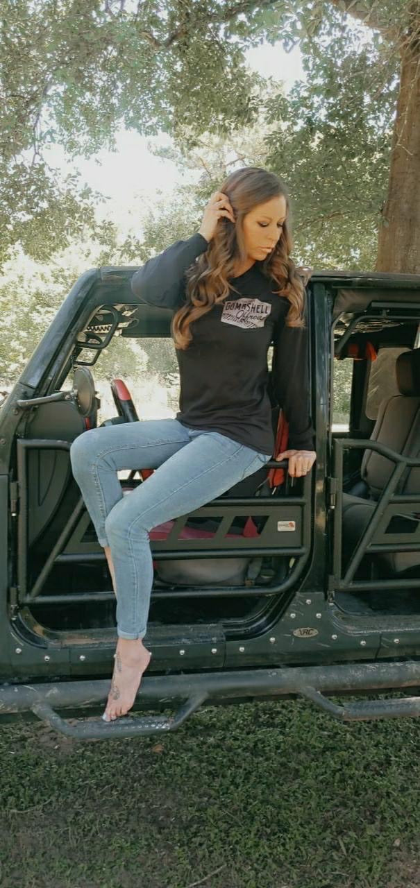 Muddy Metallic Long Sleeve - Bombshell Offroad