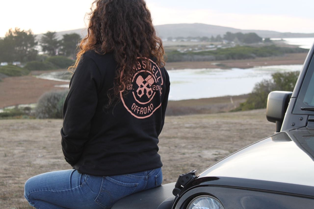 RESTOCKED! Peachy Rowdy Piston Zip Up