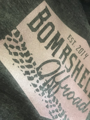 Muddy Metallic Crop Top - Bombshell Offroad