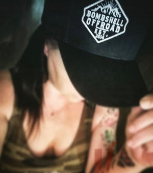 RESTOCK! Movin' Mountains SnapBack Hat - Bombshell Offroad