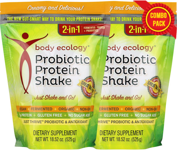 Probiotic Protein Shake (2-Pack Bundle)