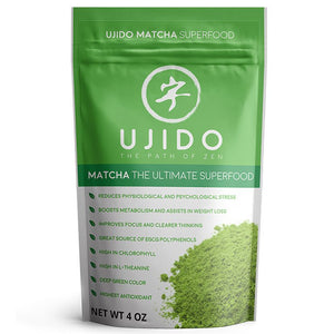 ujido matcha green tea powder