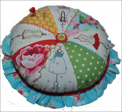 A Slice of Style Pin Cushion