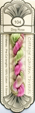Hand Dyed embroidery thread-104-CGT