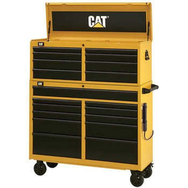 Cat 52 in Tool Chest and Cabinet Combo