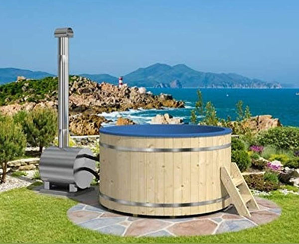Allwood Wood fired hot tub model #200 EP