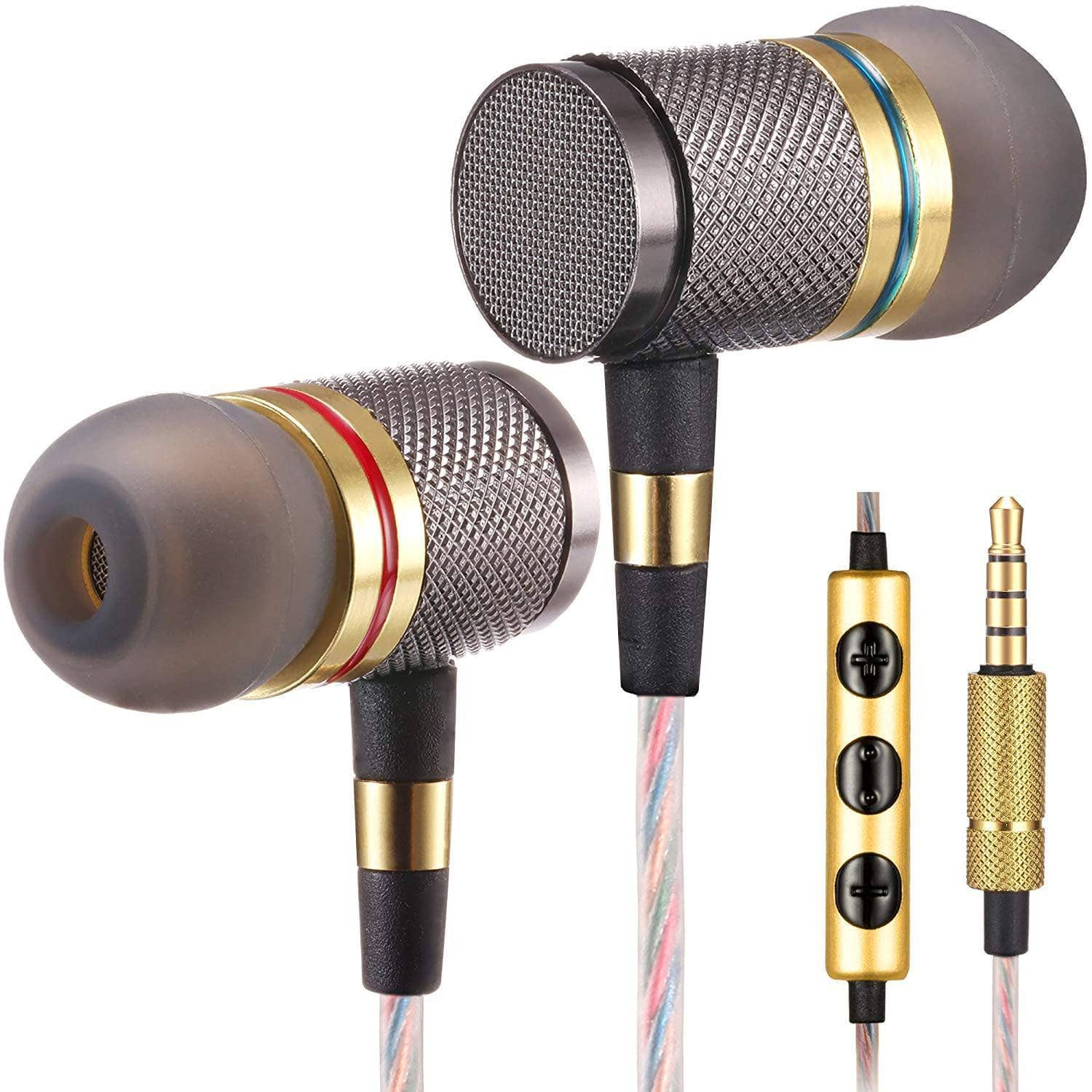 betron ysm1000 headphones earbuds high definition in ear noise