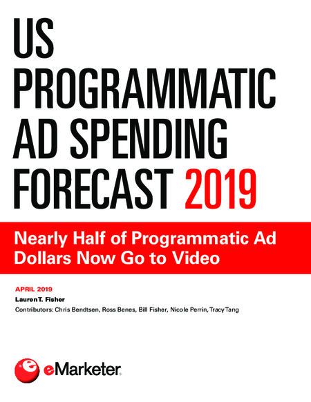 US Programmatic Ad Spending Forecast 2019: Nearly Half of Programmatic Ad Dollars Now Go to Video