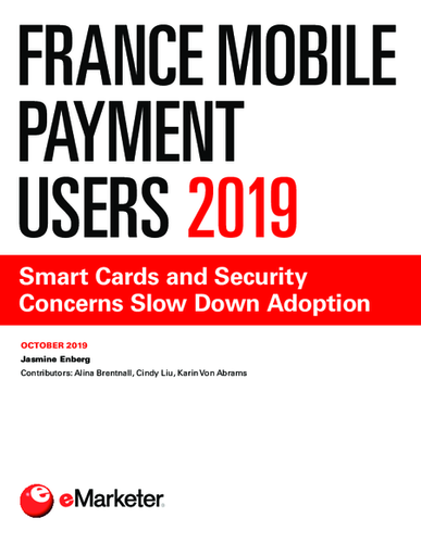 France Mobile Payment Users 2019: Smart Cards and Security Concerns Slow Down Adoption
