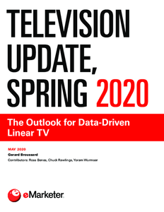 Television Update, Spring 2020: The Outlook for Data-Driven Linear TV