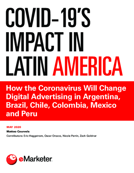 COVID-19's Impact in Latin America: How the Coronavirus Will Change Digital Advertising in Argentina, Brazil, Chile, Colombia, Mexico and Peru