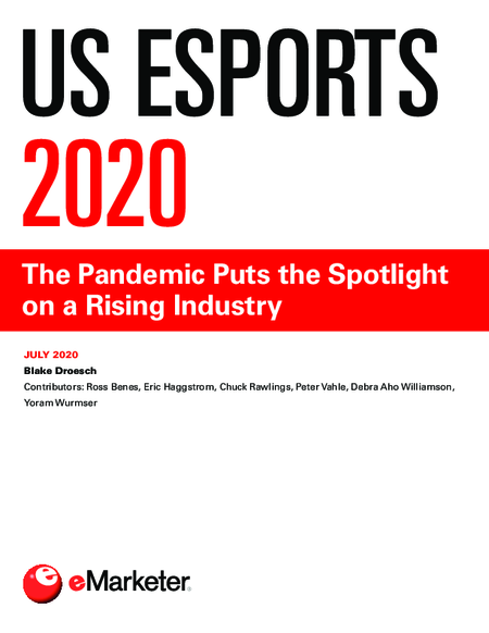 US Esports 2020: The Pandemic Puts the Spotlight on a Rising Industry