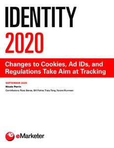 Identity 2020: Changes to Cookies, Ad IDs, and Regulations Take Aim at Tracking