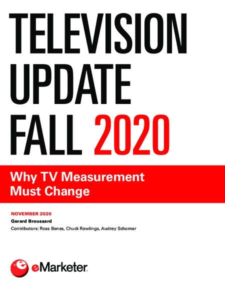 Television Update Fall 2020: Why TV Measurement Must Change
