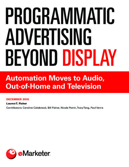 Programmatic Advertising Beyond Display: Automation Moves to Audio, Out-of-Home and Television