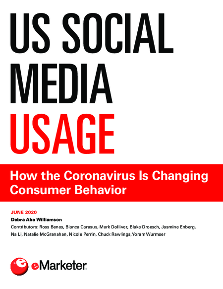 US Social Media Usage: How the Coronavirus Is Changing Consumer Behavior
