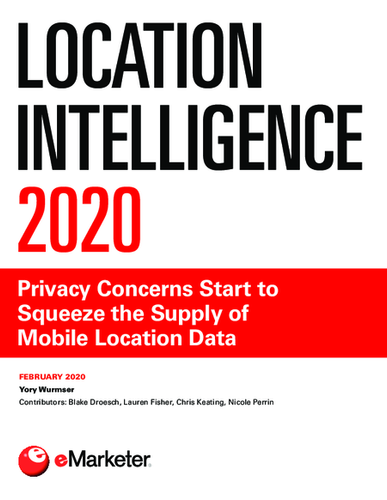 Location Intelligence 2020: Privacy Concerns Start to Squeeze the Supply of Mobile Location Data