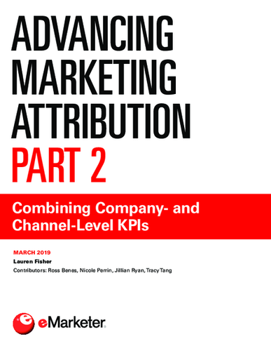 Advancing Marketing Attribution, Part 2: Combining Company- and Channel-Level KPIs