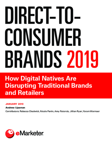 Direct-to-Consumer Brands 2019: How Digital Natives Are Disrupting Traditional Brands and Retailers