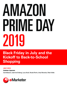 Amazon Prime Day 2019: Black Friday in July and the Kickoff to Back-to-School Shopping