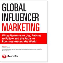 Global Influencer Marketing: What Platforms to Use, Policies to Follow and the Paths to Purchase Around the World