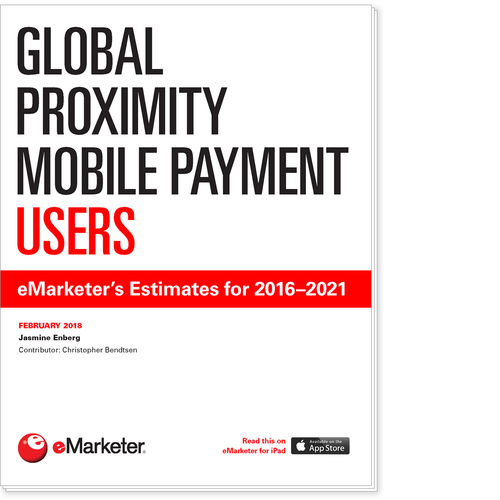 Global Proximity Mobile Payment Users: eMarketer's Estimates for 2016–2021