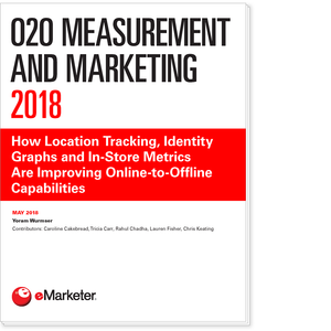 O2O Measurement and Marketing 2018: How Location Tracking, Identity Graphs and In-Store Metrics Are Improving Online-to-Offline Capabilities