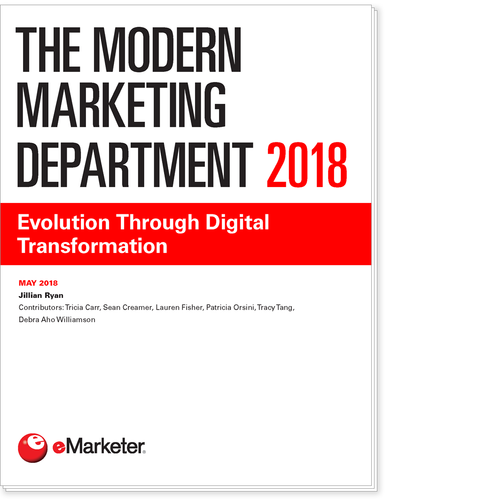 The Modern Marketing Department 2018: Evolution Through Digital Transformation