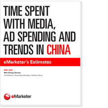 Time Spent with Media, Ad Spending and Trends in China: eMarketer's Estimates
