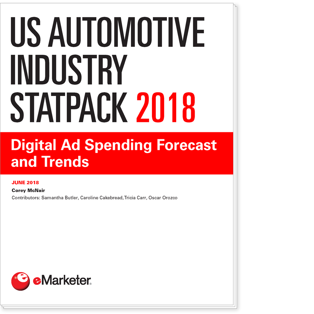 US Automotive Industry StatPack 2018: Digital Ad Spending Forecast and Trends