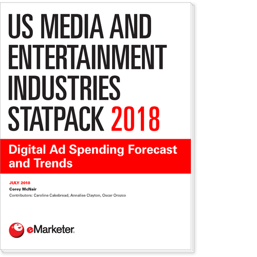 US Media and Entertainment Industries StatPack 2018: Digital Ad Spending Forecast and Trends