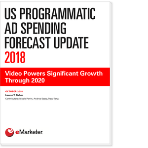US Programmatic Ad Spending Forecast Update 2018: Video Powers Significant Growth Through 2020