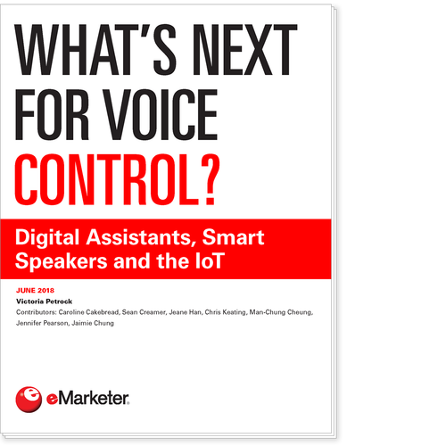 What's Next for Voice Control? Digital Assistants, Smart Speakers and the IoT