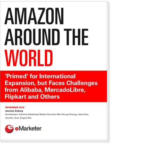 Amazon Around the World: 'Primed' for International Expansion, but Faces Challenges from Alibaba, MercadoLibre, Flipkart and Others