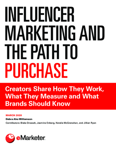 Influencer Marketing and the Path to Purchase: Creators Share How They Work, What They Measure and What Brands Should Know