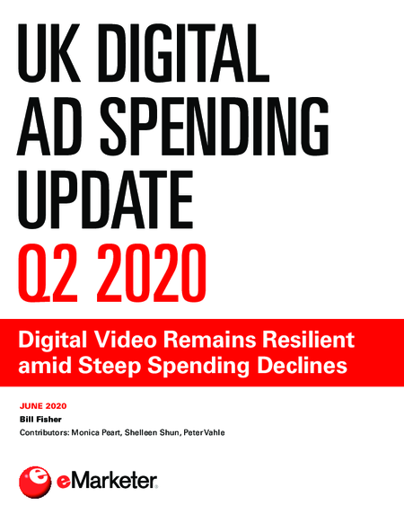 UK Digital Ad Spending Update Q2 2020: Digital Video Remains Resilient amid Steep Spending Declines
