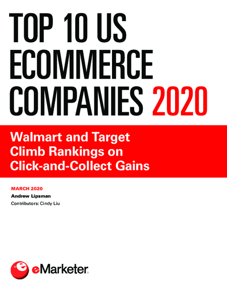 Top 10 US Ecommerce Companies 2020: Walmart and Target Climb Rankings on Click-and-Collect Gains