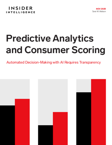 Predictive Analytics and Consumer Scoring: Automated Decision-Making with AI Requires Transparency