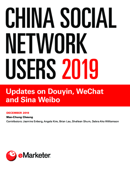China Social Network Users 2019: Updates on Douyin, WeChat and Sina Weibo