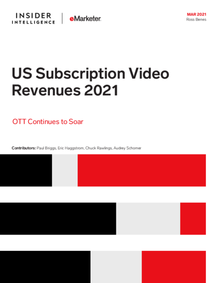 US Subscription Video Revenues 2021: OTT Continues to Soar