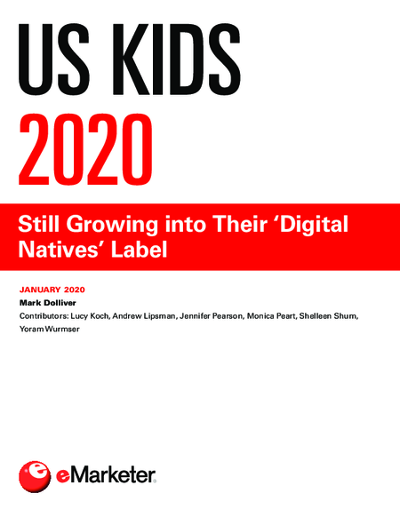 US Kids 2020: Still Growing into Their 'Digital Natives' Label