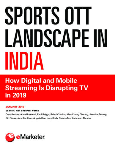 Sports OTT Landscape in India: How Digital and Mobile Streaming Is Disrupting TV in 2019