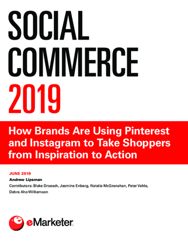 Social Commerce 2019: How Brands Are Using Pinterest and Instagram to Take Shoppers from Inspiration to Action