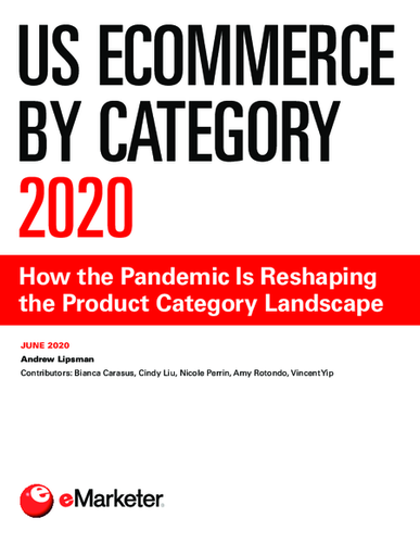 US Ecommerce by Category 2020 : How the Pandemic Is Reshaping the Product Category Landscape